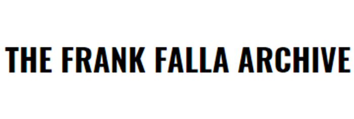 The Frank Falla Archive