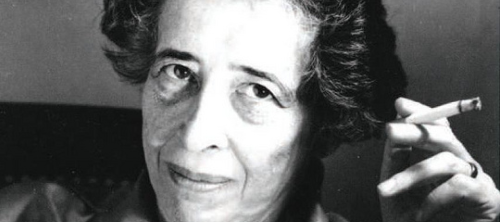 Hannah Arendt (Oct. 14, 1906 - 1975)