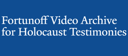 Fortunoff Video Archive for Holocaust Testimonies