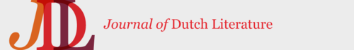 Journal of Dutch Literature