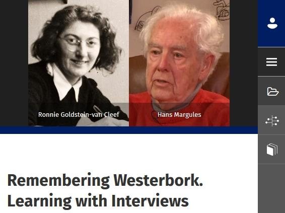 Remembering Westerbork. Learning with Interviews